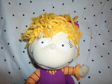 "2000 Rugrats Angelica Cartoon 12"" Plush Soft Toy Stuffed Animal"
