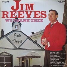 JIM REEVES - WHE THANK THEE - LP