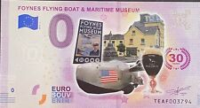 BILLET 0  EURO FOYNES FLYING BOAT IRLANDE  COULEUR  2019 NUMERO DIVERS