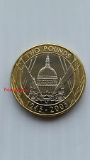 ROYAL MINT*2005*UNC*ST PAUL 60TH ANNIVERSARY END OF WWII £2 TWO POUND COIN