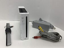 Nintendo Wii System Console RVL-001 No Controllers Or Games Working Tested