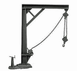 JIB CRANE O On30 1:48 Model Railroad Diorama Unpainted Plastic Detail FRT8007