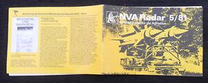 "6302 EAST GERMAN/DDR/GDR Cold War "" RADAR  "" NVA MAGAZINE AUGUST 1981"