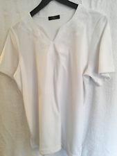 Ladies Top by Bonmarche White  Size S