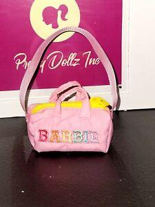 Barbie Signature Stoney Clover Lane x Barbie pink travel bag  only
