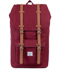 Herschel Supply Co. Zaino Little America Backpack wine x NUOVO 25 L
