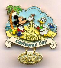 Disney Cruise Line Castaway Cay Mickey Donald Artist Choice LE Pin RARE