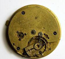 COX AND SON LONDON ENGLISH LEVER FUSEE POCKET WATCH MOVEMENT  SPARES REPAIR TT69