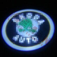 """2x LED Logoprojektor """"SKODA"""" Logo Skoda Superb (Typ 3T) alle Modelle BJ ab 2008"""