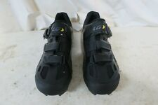Louis Garneau Women's Mica MTB Cycling Shoes Eur 42 US 11 Black