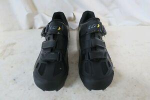 Louis Garneau Women's Mica MTB Cycling Shoes Eur 41 US 10 Black