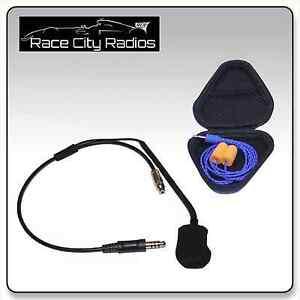 IMSA Racing Helmet Kit w/ M101 Mic + HD Driver Ear Buds Radios Electronics