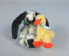 Deb Canham Pip 'n Squeak Bunny and Duck Miniature Animals