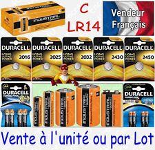 Piles DURACELL INDUSTRIAL LR14 C BABY R14 MN1400 ( vente à l'unité ou par lot )