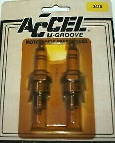 NOS Accel 2413 Spark Plug Set of (2) Fast Free Shippin