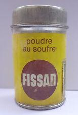 Germany FISSAN Dr Sauer Sulfur Powder Greek Edition Vintage Tin Box Full