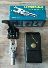 LEATHERMAN Tool Adapter mit Holster und OVP  (wie neu)