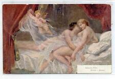 EVIAN Amore Amour Love Nudo Nude Girl PC Circa 1910