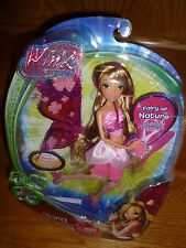 FLORA Winx Club BELIEVIX 2 POWER BALL Doll w/ Fluttering Wings Green Fairy