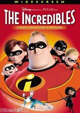 The Incredibles (2-Disc Widescreen Collector's Edition Dvd) Superheroes! *Pg*