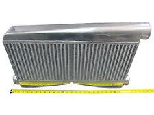 "CXRACING Universal Twin Turbo BigCore 3.5"" Thickness Intercooler 27""x16.5""x3.5"""