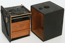Kodak Bullseye No. 2 Model D Box Camera c. 1899 wood