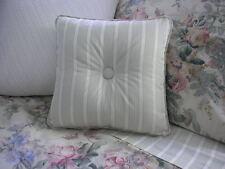 NEW Custom Ralph Lauren Winter Garden Stripe Throw Pillow 1 Button