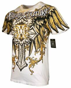 XTREME COUTURE by AFFLICTION Men's T-Shirt SIREN Tattoo Biker MMA S-4X