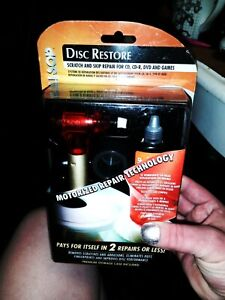 Disc Restore SCRATCH & SKIP REPAIR FOR CD, CD-R, DVD AND GAMES Removes Scratches