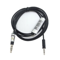 Remote Volume Control Cable for Sennheiser Momentum 1.0 2.0 On-Ear Headphone