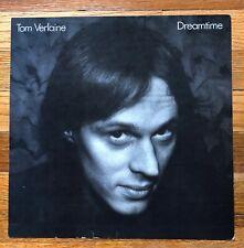 Tom Verlaine Dreamtime Rare vintage original promo 12 x 12 poster flat '81