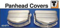 STAINLESS VALVE COVER ROCKER BOX TOP ENGINE COVERS HARLEY DAVIDSON PANHEAD