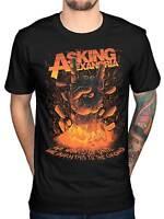 Official Asking Alexandria Metal Hands T-Shirt Monster Rock N Roll Relentless