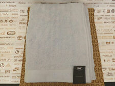 HUGO BOSS Bath Towel Sumptuous Powder Blue Soft Cotton 90x16ocm Sheet BNWT RP£50