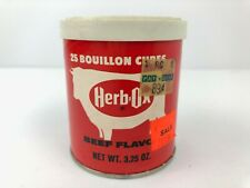 Vintage Herb OX Beef Flavor Tin