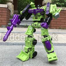 Transformers WJ DEVASTATOR 6 In 1 Engineering Truck Robot Action Figure
