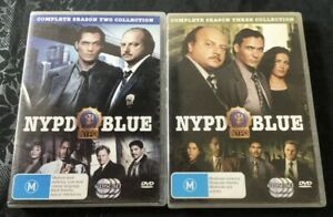 **NYPD BLUE ~ SEASON 2 & SEASON 3 ~ R4 DVD ~ 12 DISCS**