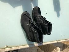 timberland black ankle boots size 5