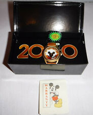 Disney Mickey Mouse Watch Year 2000 - Made Exclusively for The Disney Store