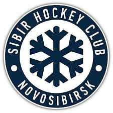 HC Sibir Novosibirsk KHL Hockey Car Bumper Window Locker Sticker Decal 4.6""