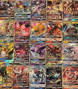 60 Pokemon Cards Bulk Lot - 1x V or GX or EX Ultra Rare +6 Rare or Holo Cards