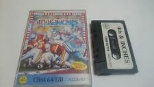 CASSETTE 4TH & INCHES AMERICAN FOOTBALL COMMODORE 64 128 CMB 64 C64 PAL