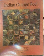 Indian Orange Peel by Karen K. Stone - Quilt pattern - Unused.