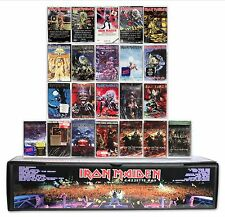 IRON MAIDEN - 23 NEW/SEALED cassette tapes in a custom box set