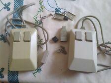 Lot 2 Souris Commodore Amiga à rebrancher + pièces