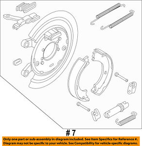 Inroble For 1995 Chrysler Cirrus LXi Premium Quality Rear Brake Drums and Drum Brake Shoes Two Years Warranty