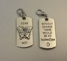 Tag Fear Not Blessed Inspire God Love Dangle Charms Fits Origami Owl Locket