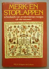 1980 VINTAGE SAMPLER CROSS STITCH CHART & BOOK 'SAMPLERS & DARNING SAMPLERS'