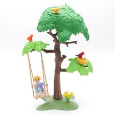 Playmobil 9272 arbre avec balançoire Terrain de jeux enfant école cour