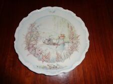 Royal Doulton Collectors Plate RATTY AND MOLE GO BOATING